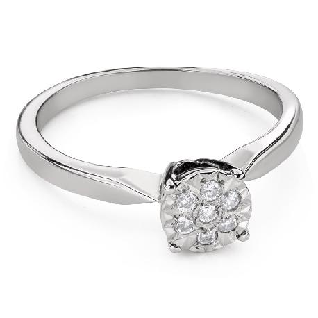 """Помолвочное кольцо с Бриллиантами """"Возлюбленный 149"""""""