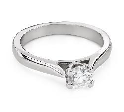 """Помолвочное кольцо с Бриллиантом """"Богиня 161"""""""