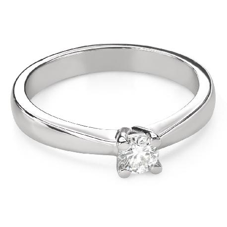 """Помолвочное кольцо с Бриллиантом """"Богиня 164"""""""