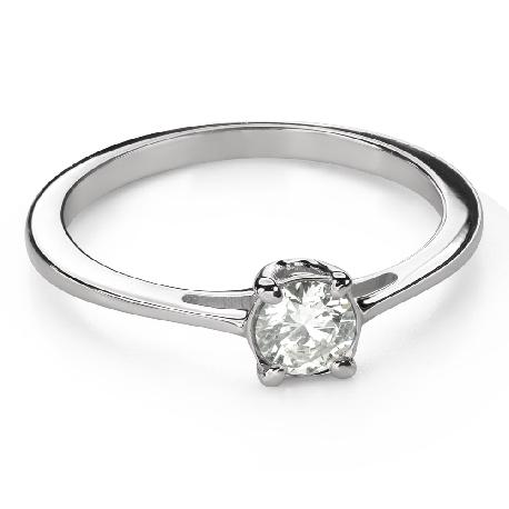 """Помолвочное кольцо с Бриллиантом """"Богиня 165"""""""