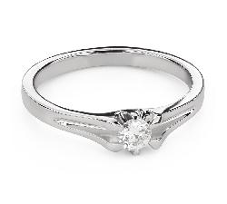 """Помолвочное кольцо с Бриллиантом """"Единственная 140"""""""
