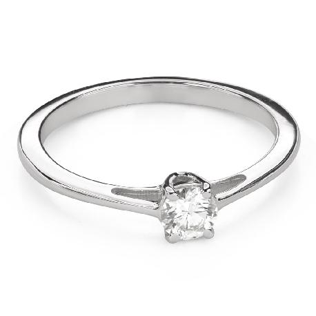 """Помолвочное кольцо с Бриллиантом """"Богиня 172"""""""