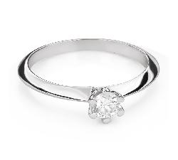 """Помолвочное кольцо с Бриллиантом """"Королева 50"""""""