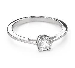 """Помолвочное кольцо с Бриллиантом """"Богиня 173"""""""