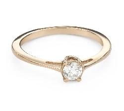 """Помолвочное кольцо с Бриллиантом """"Богиня 176"""""""