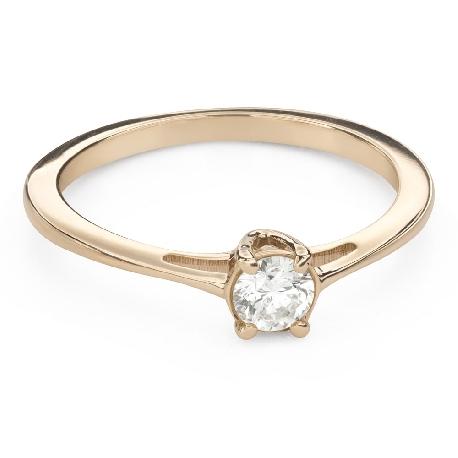 """Saderināšanās gredzens ar Briljantu """"Dieviete 176"""""""