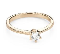"""Помолвочное кольцо с Бриллиантом """"Королева 53"""""""