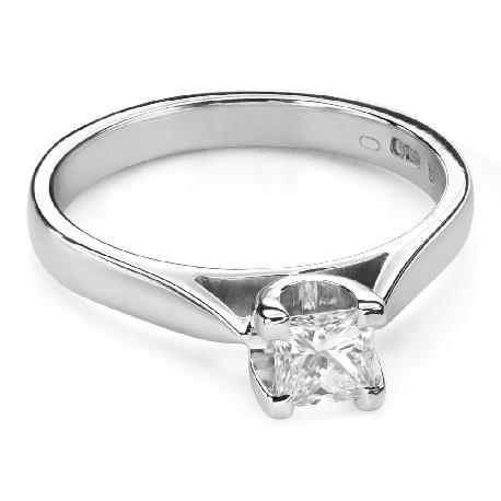 """Помолвочное кольцо с Бриллиантом """"Прочность 116"""""""