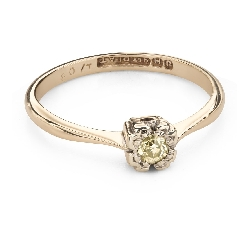 """Saderināšanās gredzens ar Briljantu """"Mīļais 151"""""""