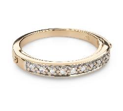 """Помолвочное кольцо с алмазами """"Алмазная полоска 56"""""""