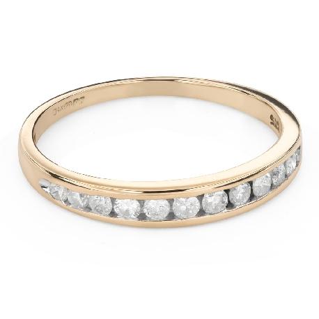 """Помолвочное кольцо с Бриллиантами """"Алмазная полоска 57"""""""
