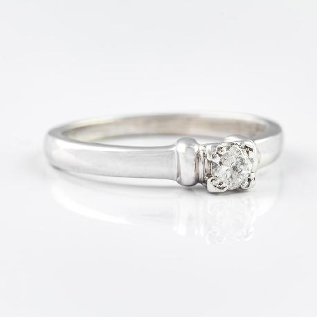 """Saderināšanās gredzens ar briljantu """"Stiprums II"""""""