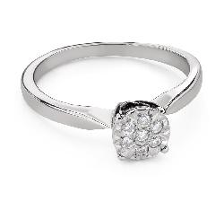 """Помолвочное кольцо с Бриллиантами """"Возлюбленный 152"""""""