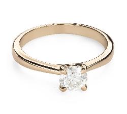"""Помолвочное кольцо с Бриллиантом """"Богиня 185"""""""