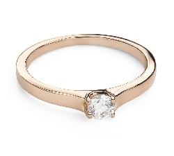 """Помолвочное кольцо с Бриллиантом """"Богиня 186"""""""