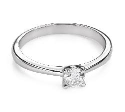 """Помолвочное кольцо с Бриллиантом """"Богиня 189"""""""