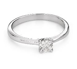 """Помолвочное кольцо с Бриллиантом """"Богиня 190"""""""