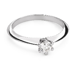 """Помолвочное кольцо с Бриллиантом """"Королева 60"""""""
