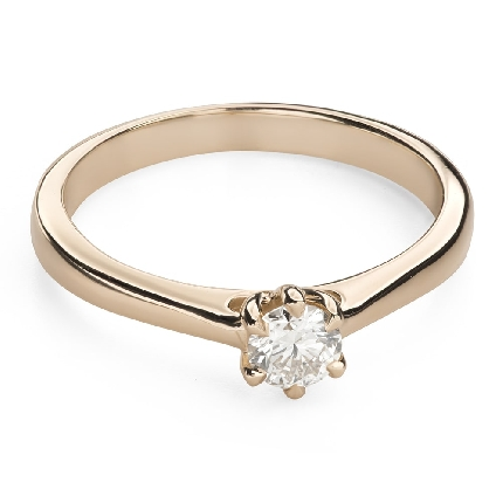 """Saderināšanās gredzens ar Briljantu """"Sirds karaliene 30"""""""