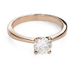 """Saderināšanās gredzens ar Briljantu """"Dieviete 184"""""""