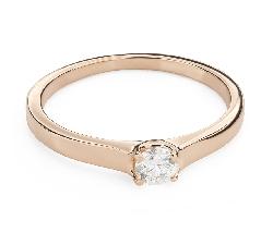 """Помолвочное кольцо с Бриллиантом """"Богиня 194"""""""