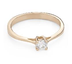"""Помолвочное кольцо с Бриллиантом """"Прочность 120"""""""