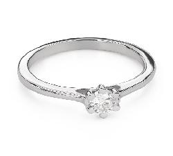 """Помолвочное кольцо с Бриллиантом """"Королева сердца 29"""""""