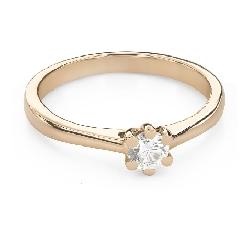 """Помолвочное кольцо с Бриллиантом """"Королева 56"""""""