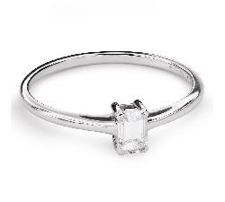 """Saderināšanās gredzens ar Dimantu """"Stiprums 105"""""""