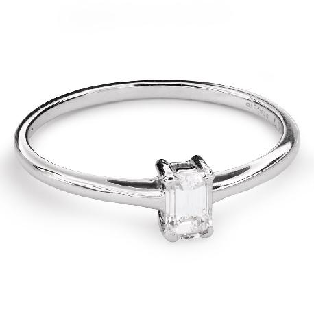 """Помолвочное кольцо с Aлмазом """"Прочность 105"""""""