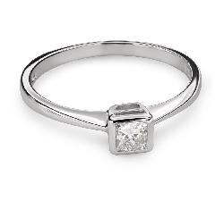 """Saderināšanās gredzens ar Dimantu """"Princese 80"""""""