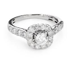 """Помолвочное кольцо с Бриллиантом """"Корона 23"""""""
