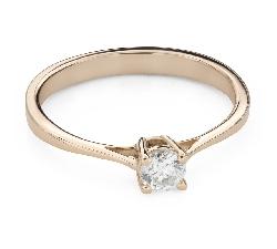 """Помолвочное кольцо с Бриллиантом """"Прочность 121"""""""