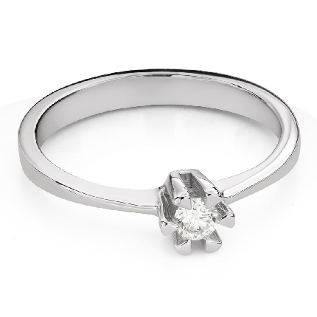 """Помолвочное кольцо с Бриллиантом """"Прочность 122"""""""
