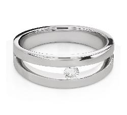 """Помолвочное кольцо с Бриллиантом """"Среди скал 48"""""""
