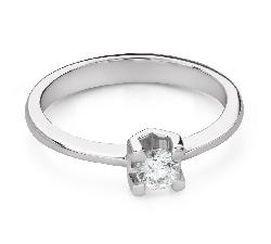 """Помолвочное кольцо с Бриллиантом """"Прочность 127"""""""