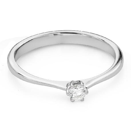 """Помолвочное кольцо с Бриллиантом """"Королева 70"""""""