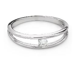 """Помолвочное кольцо с Бриллиантом """"Среди скал 52"""""""
