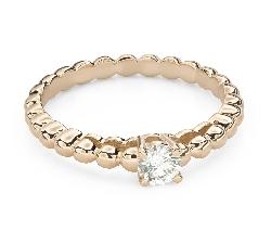 """Помолвочное кольцо с Бриллиантом """"Прочность 131"""""""