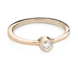 """Помолвочное кольцо с Бриллиантом """"Объятная 31"""""""