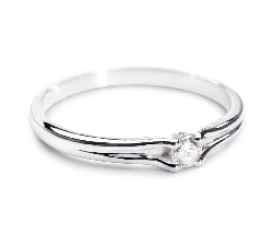 """Помолвочное кольцо с Бриллиантом """"Хрупкая 16"""""""