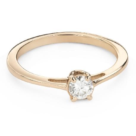 """Помолвочное кольцо с Бриллиантом """"Богиня 212"""""""