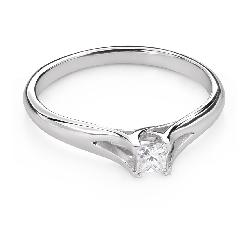 """Помолвочное кольцо с Aлмазом """"Принцесса 110"""""""