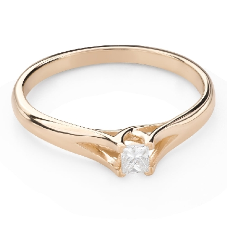"""Saderināšanās gredzens ar Dimantu """"Princese 113"""""""