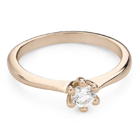 """Помолвочное кольцо с Бриллиантом """"Королева 79"""""""
