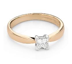 """Saderināšanās gredzens ar Dimantu """"Princese 115"""""""
