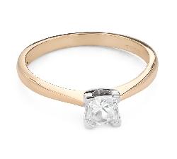 """Помолвочное кольцо с Aлмазом """"Принцесса 116"""""""