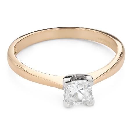 """Saderināšanās gredzens ar Dimantu """"Princese 116"""""""