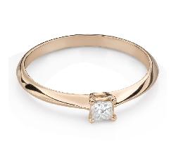 """Помолвочное кольцо с Aлмазом """"Принцесса 119"""""""