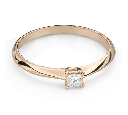 """Saderināšanās gredzens ar Dimantu """"Princese 120"""""""
